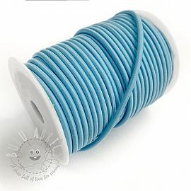 Round elastic 5 mm old blue