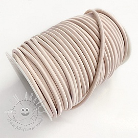 Round elastic 5 mm old pink