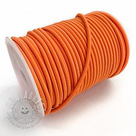 Round elastic 5 mm orange