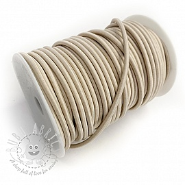 Round elastic 5 mm peddle