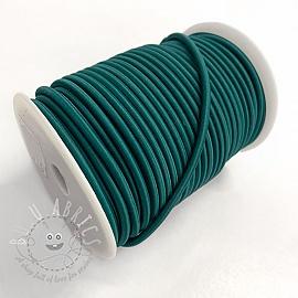 Round elastic 5 mm petrol