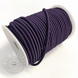 Round elastic 5 mm purple