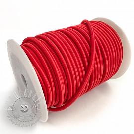 Round elastic 5 mm red