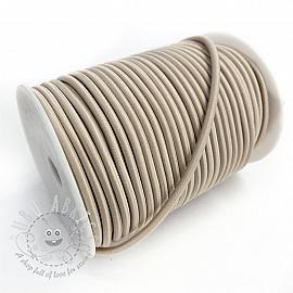 Round elastic 5 mm sand