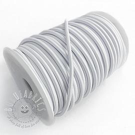 Round elastic 5 mm white