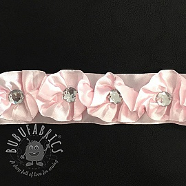 Satin ribbons Crystal rose