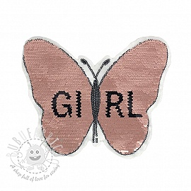 Sequins reversible Butterfly girl
