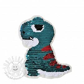 Sequins reversible Dino