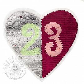 Sequins reversible Heart 23