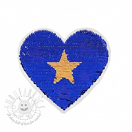 Sequins reversible Little hearts stars