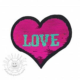 Sequins reversible Love unicorns