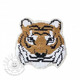 Sequins reversible Miss mini Tiger