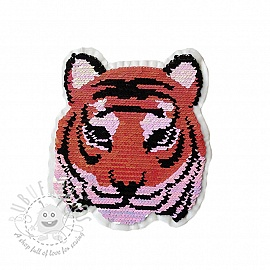 Sequins reversible Miss Tiger