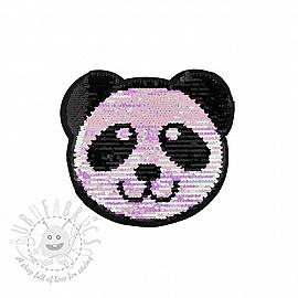 Sequins reversible Panda mini pastel