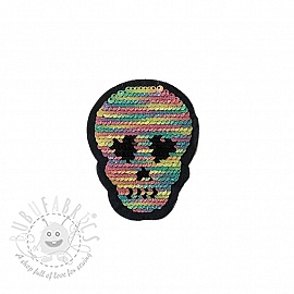 Sequins reversible SMALL Skull