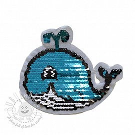Sequins reversible SMALL Whale