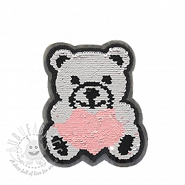 Sequins reversible Teddy
