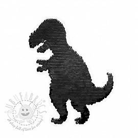 Sequins reversible Tyrannosaurus