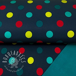 Softshell Dot navy