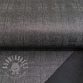 Softshell FOIL Square black grey