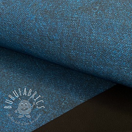 Softshell Jeans look indigo melange