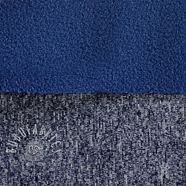 Softshell MELANGE dark blue 2nd class