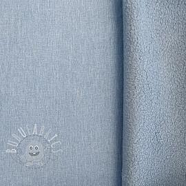Softshell melange light blue