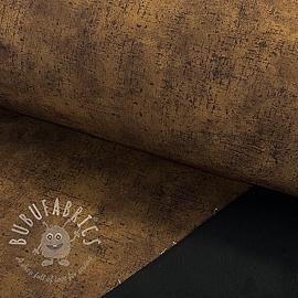 Softshell Raw texture chocolate digital print