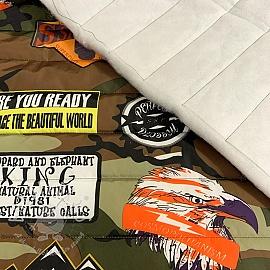 Stepped fabric Army camo