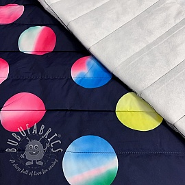 Stepped fabric Circles