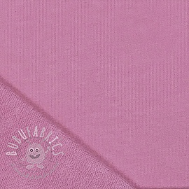 Stepped sweat pink-violet
