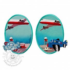 Sticker BASIC Airport 2 pc PATCH