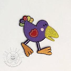 Sticker BASIC Birdie violet