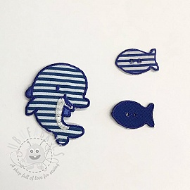 Sticker BASIC Dolphin Family