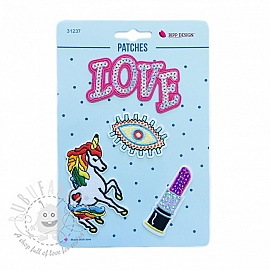 Sticker BIPP Love Eye