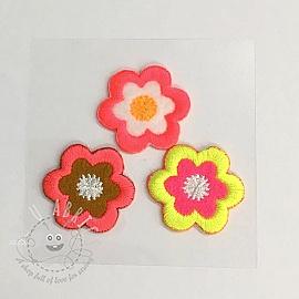 Sticker MIDI Neon Flowers