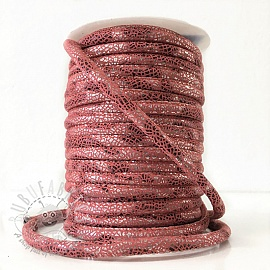 Suede cord Glitter old pink