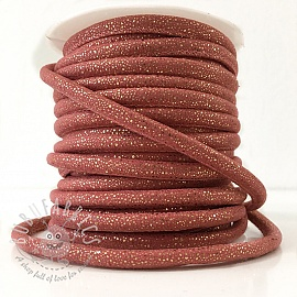 Suede cord Luxe old rose