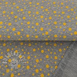 Sweat Dots grey/ochre melange