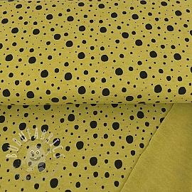 Sweat Dots ochre/black melange