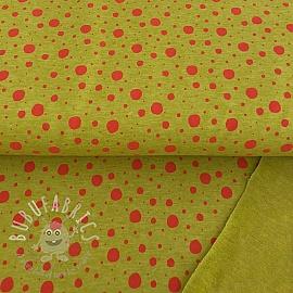 Sweat Dots ochre/rose melange