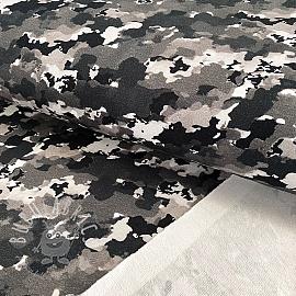 Sweat fabric Army power black digital print