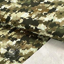Sweat fabric Army power pickle digital print