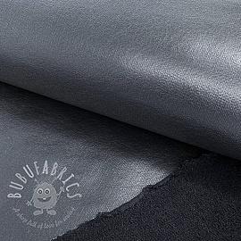 Sweat fabric FOIL dark blue