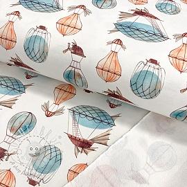 Sweat fabric HEAVY Airship digital print