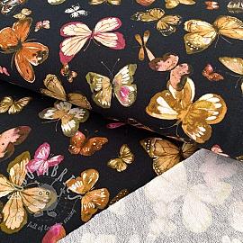 Sweat Butterflies black digital print