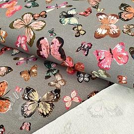 Sweat Butterflies rock grey digital print