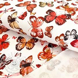 Sweat Butterflies white digital print