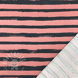 Sweat Groovy stripes old rose