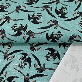 Sweat How to train your dragon blue digital print
